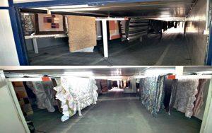 Secamos alfombras en Albacete en Lavandería Alfombralba